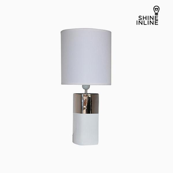 Desk Lamp White (24 x 24 x 54 cm) by Shine Inline