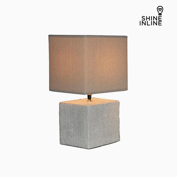 Desk Lamp Cream (22 x 22 x 48 cm) by Shine Inline