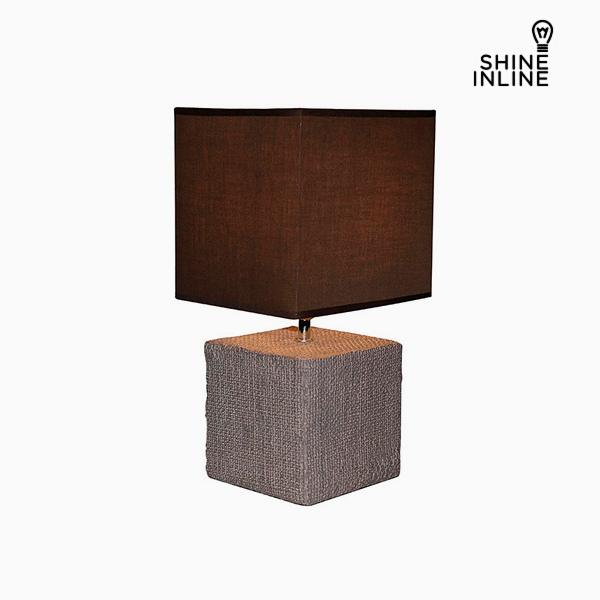 Desk Lamp Brown (22 x 22 x 48 cm) by Shine Inline