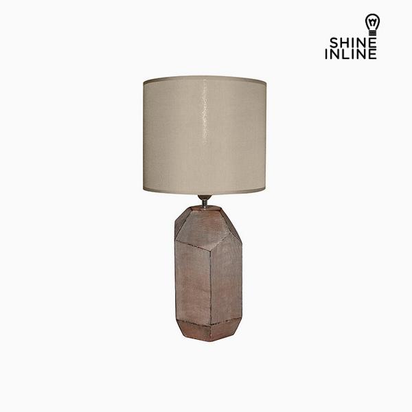 Desk Lamp Brown (30 x 30 x 61 cm) by Shine Inline