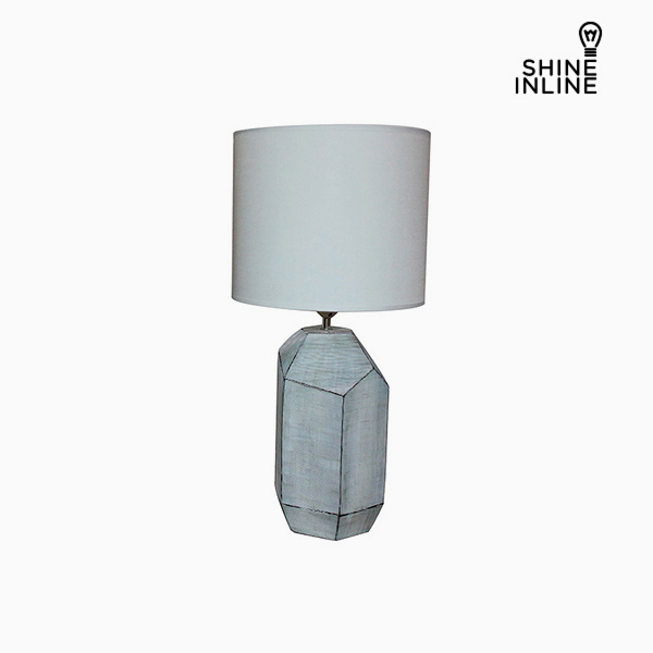 Desk Lamp White (30 x 30 x 61 cm) by Shine Inline