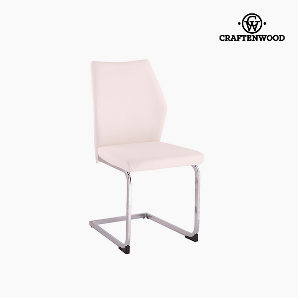 Chair Polyskin White (42 x 59 x 105 cm) by Craftenwood
