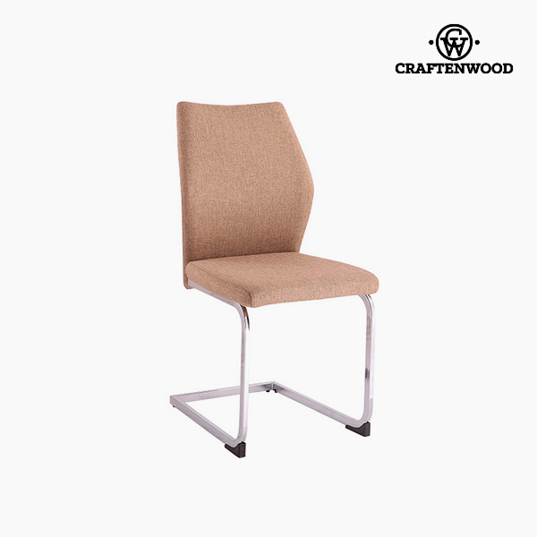 Chair Polyester Brown (42 x 59 x 105 cm) by Craftenwood