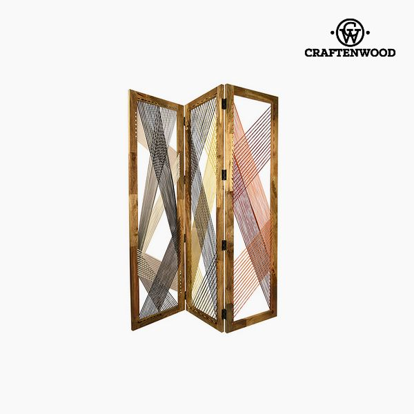 Folding screen (155 x 3 x 183 cm) - Let's Deco Collection by Craftenwood