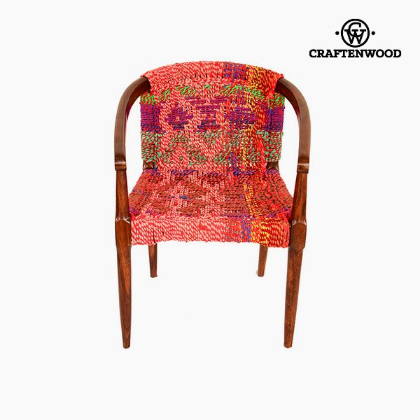 Armchair Sesame wood (50 x 60 x 79 cm) by Craftenwood