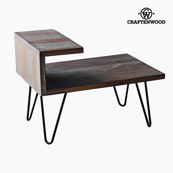 Nightstand Mango wood (40 x 40 x 45 cm) by Craftenwood