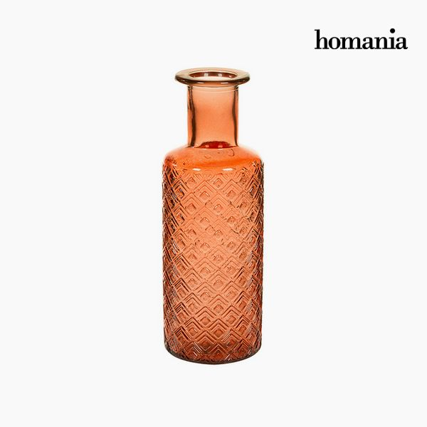 Vase Recycled glass (9 x 9 x 28 cm) by Homania