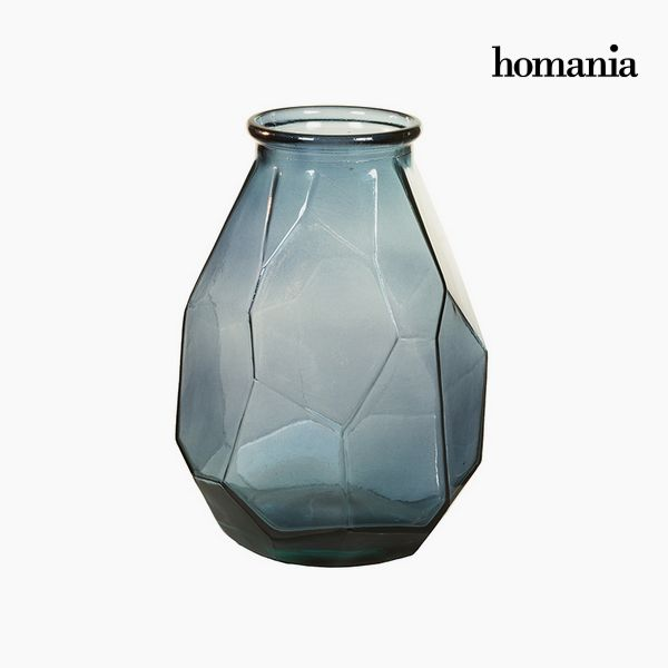 Vase made from recycled glass (25 x 25 x 35 cm) - Pure Crystal Deco Collection by Homania