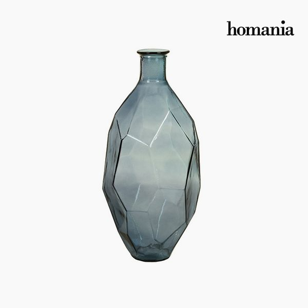 Vase made from recycled glass (29 x 29 x 59 cm) - Pure Crystal Deco Collection by Homania