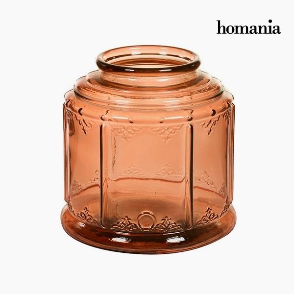 Candelabra Recycled glass (24 x 24 x 24 cm) by Homania