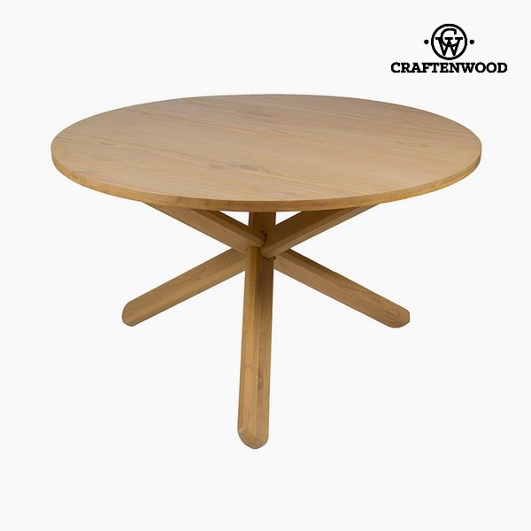 Table Mindi wood (130 x 130 x 79 cm) by Craftenwood