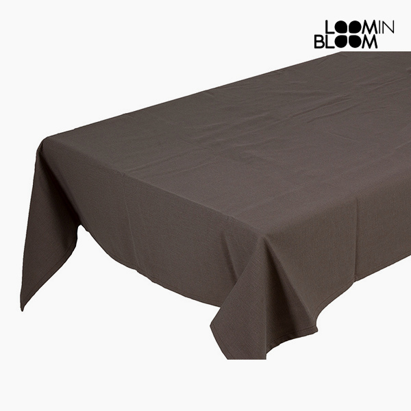 Tablecloth Brown (135 x 200 x 0,05 cm) by Loom In Bloom