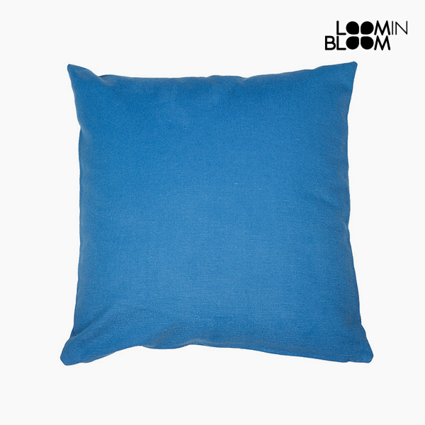 Cushion Blue (60 x 60 cm) - Cities Collection by Loom In Bloom