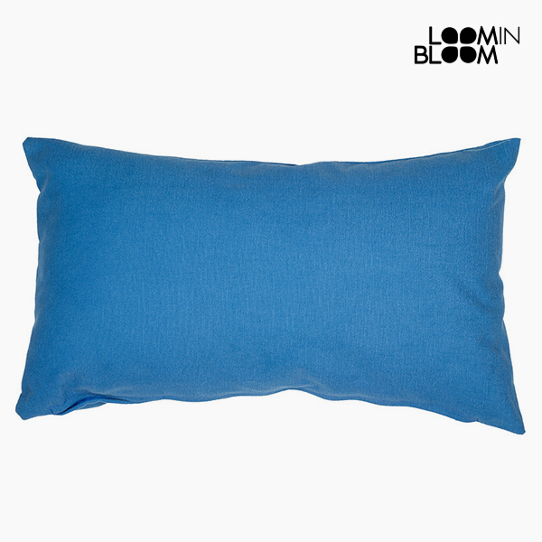 Cushion Blue (50 x 70 cm) - Cities Collection by Loom In Bloom