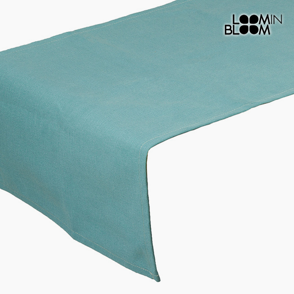 Table Runner Green (135 x 40 cm) - Little Gala Collection by Loom In Bloom