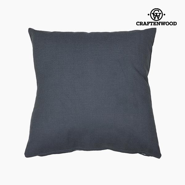 Puff Grey (90 x 90 x 25 cm) by Craftenwood