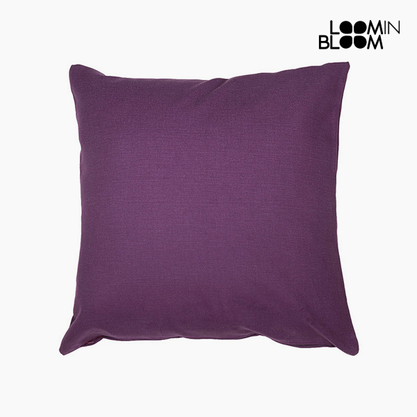 Cushion Purple (45 x 45 cm) by Loom In Bloom