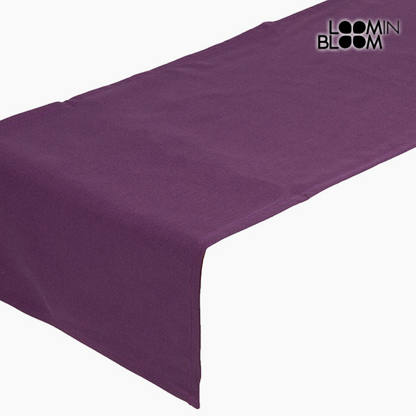Table Runner Purple (135 x 40 cm) - Little Gala Collection by Loom In Bloom
