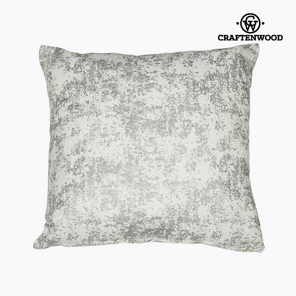 Puff Silver (90 x 90 x 25 cm) by Craftenwood