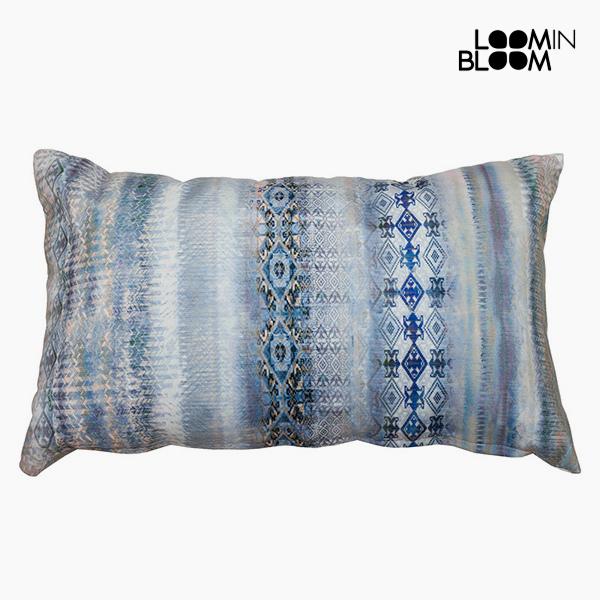 Cushion Blue (50 x 70 cm) by Loom In Bloom