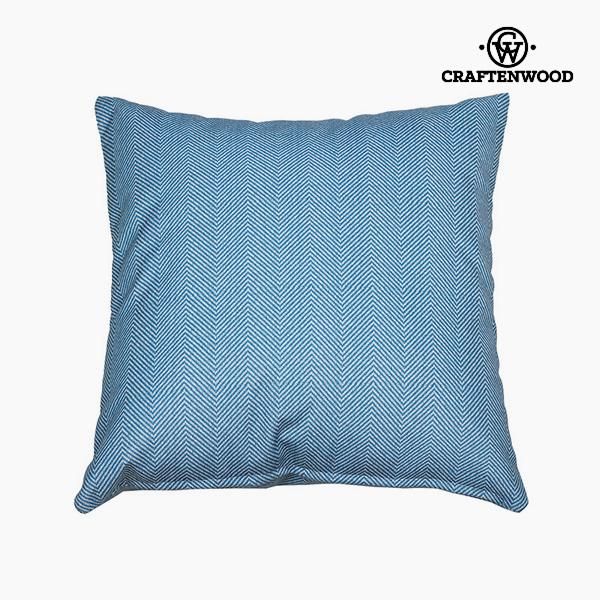 Puff Blue (90 x 90 x 25 cm) by Craftenwood