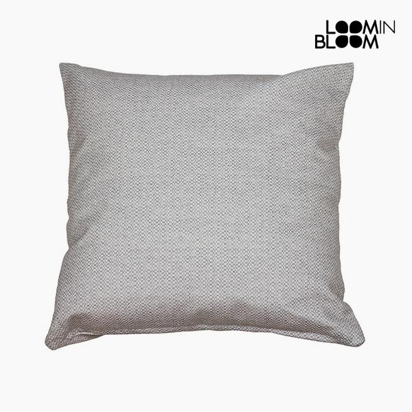 Cushion Grey (45 x 45 cm) by Loom In Bloom