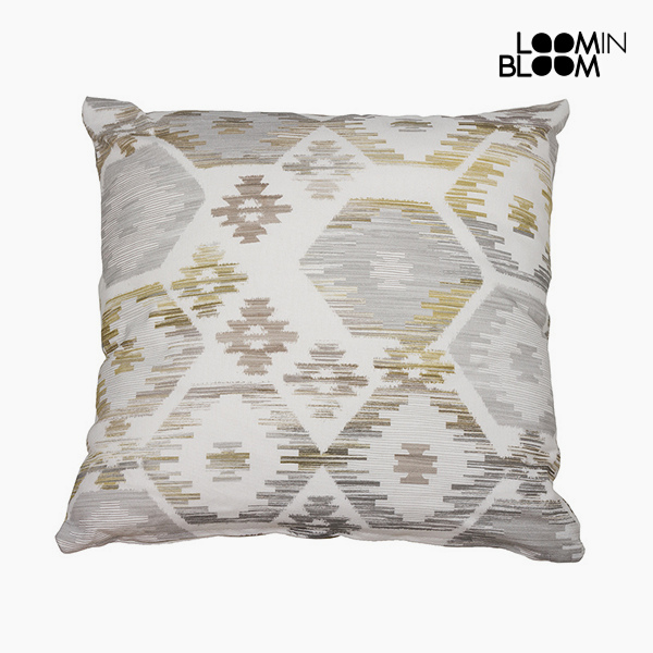 Cushion Grey (45 x 45 cm) - Jungle Collection by Loom In Bloom