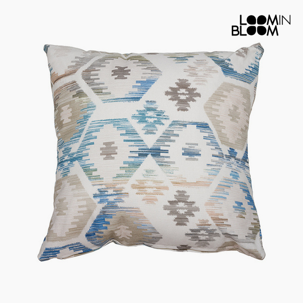 Cushion Blue (60 x 60 cm) - Jungle Collection by Loom In Bloom