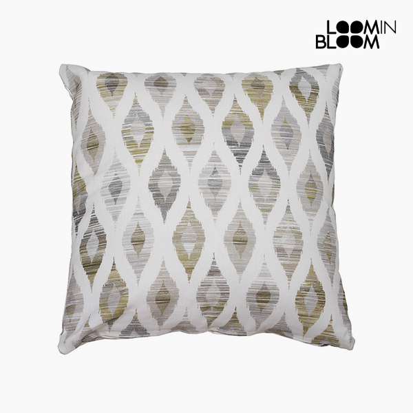 Cushion Grey (60 x 60 cm) - Jungle Collection by Loom In Bloom