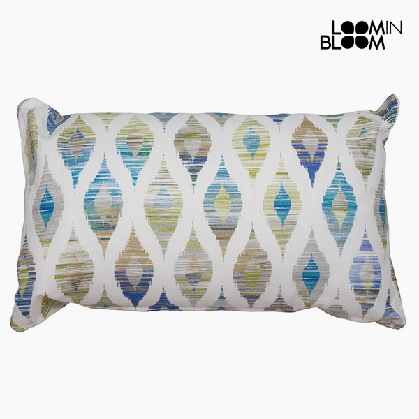 Cushion Blue (50 x 70 cm) - Jungle Collection by Loom In Bloom