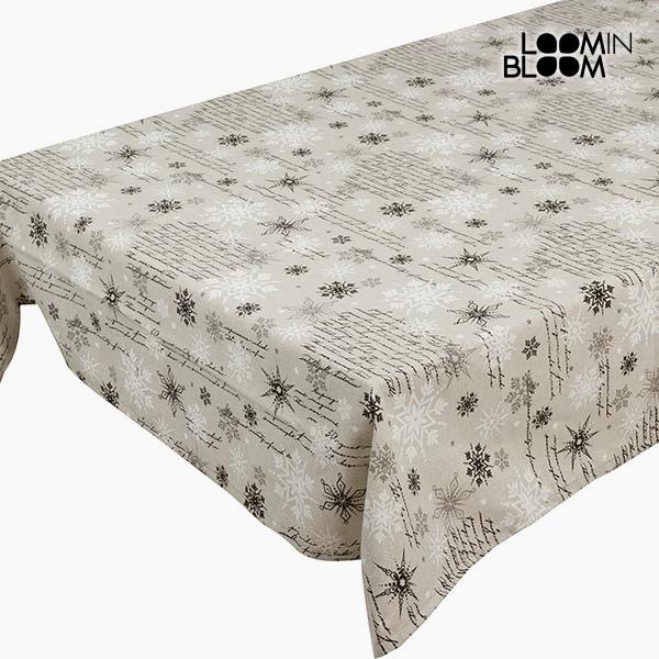 Tablecloth Black (135 x 250 cm) by Loom In Bloom