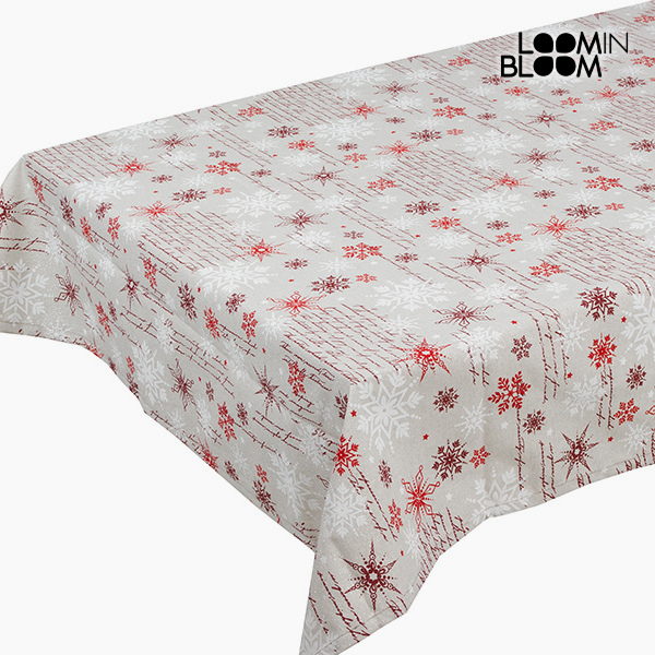 Tablecloth Red (135 x 250 cm) by Loom In Bloom
