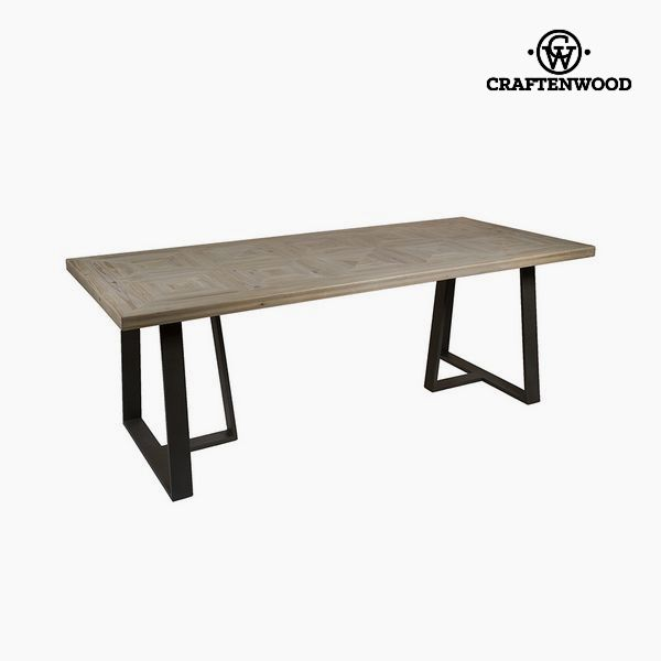 Dining Table Fir wood (218 x 99 x 78 cm) by Craftenwood