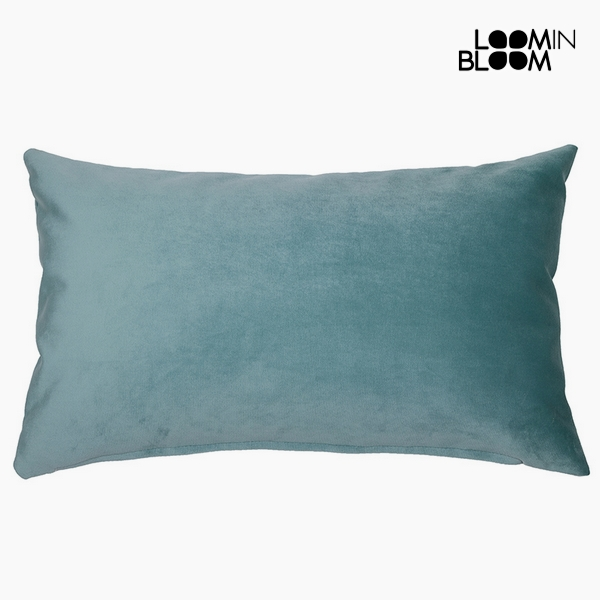 Cushion Polyester Green (30 x 50 x 10 cm) by Loom In Bloom