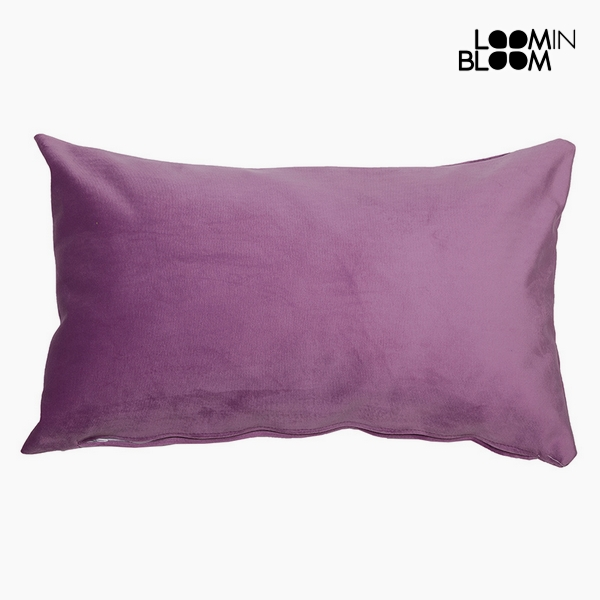 Cushion Polyester Pink (30 x 50 x 10 cm) by Loom In Bloom