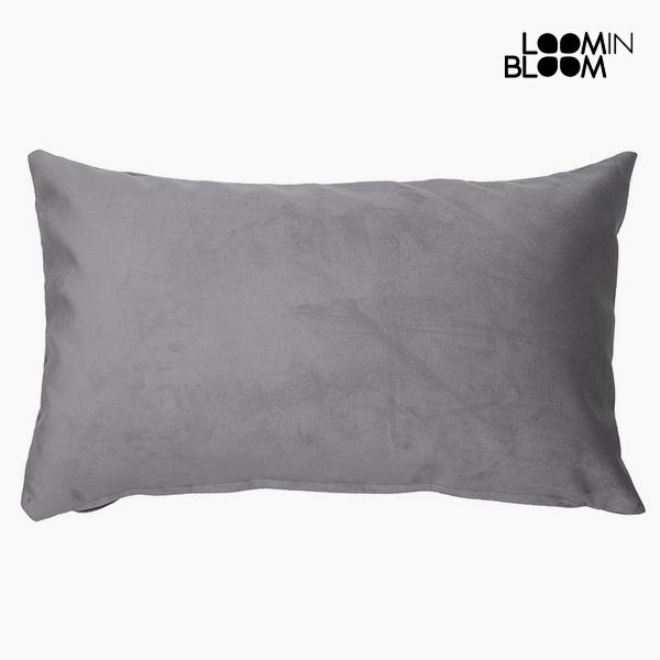 Cushion Polyester Grey (30 x 50 x 10 cm) by Loom In Bloom