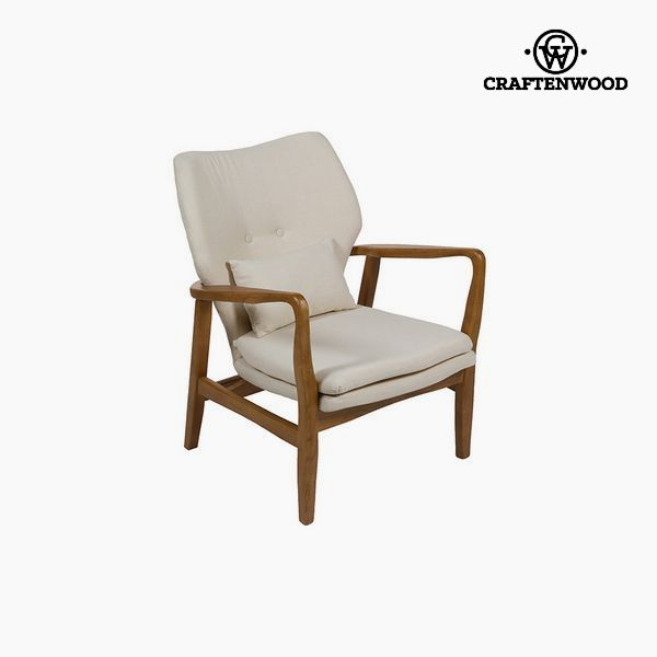 Chair Elm wood Beige (88 x 53 x 54 cm) by Craftenwood
