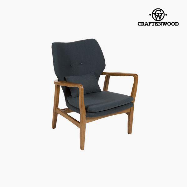 Chair Elm wood Grey (88 x 53 x 54 cm) by Craftenwood