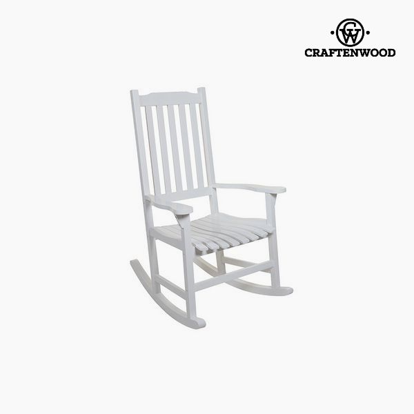Rocking Chair Aspen wood (116 x 87 x 68 cm) by Craftenwood