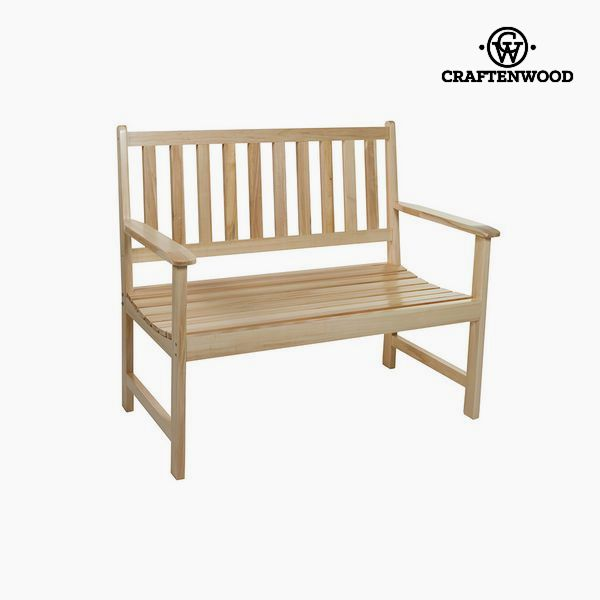 Bench Aspen wood (113 x 99 x 63 cm) by Craftenwood