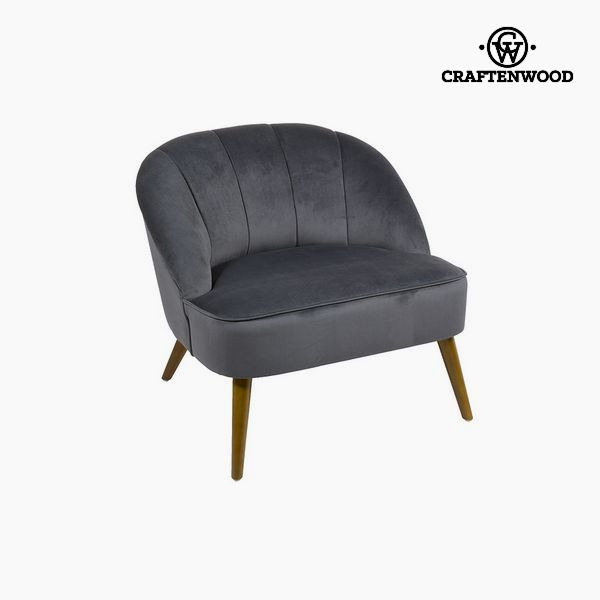 Armchair Grey (78 x 72 x 71 cm) by Craftenwood