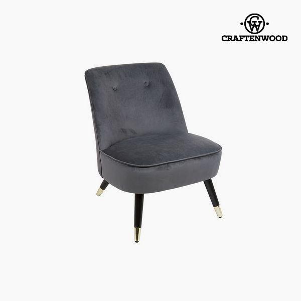 Armchair Grey (72 x 70 x 57 cm) by Craftenwood
