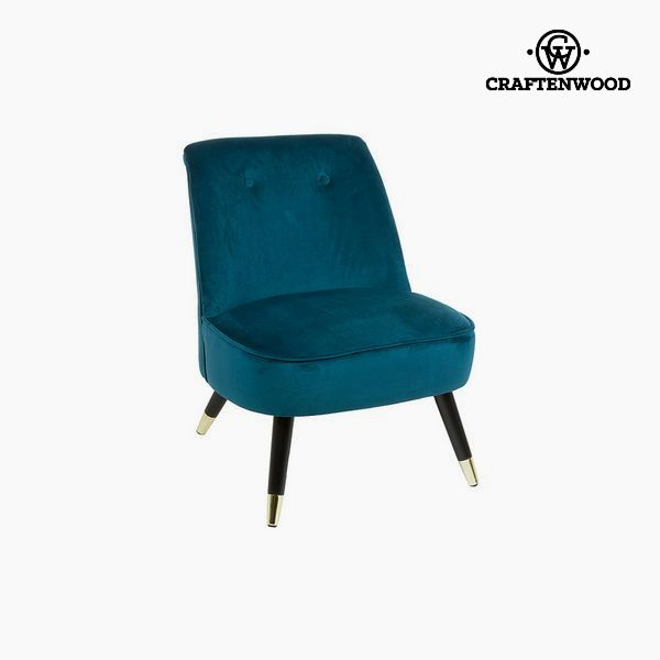 Armchair Blue (72 x 70 x 57 cm) by Craftenwood