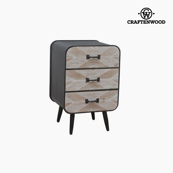 Nightstand Fir wood (59 x 38 x 38 cm) by Craftenwood
