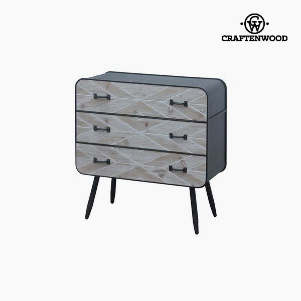 Chest of drawers Fir wood (78 x 73 x 38 cm) by Craftenwood