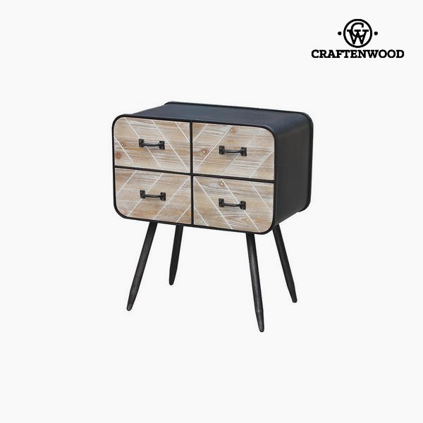 Console Fir wood (69 x 59 x 37 cm) by Craftenwood