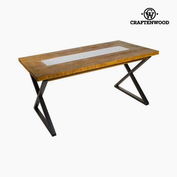Dining Table Fir Mdf (160 x 72 x 70 cm) by Craftenwood