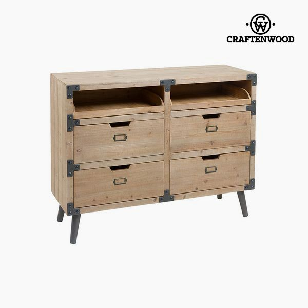 Chest of drawers Fir (100 x 77 x 35 cm) by Craftenwood