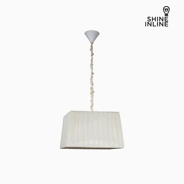 Ceiling Light White (40 x 30 x 25 cm) by Shine Inline