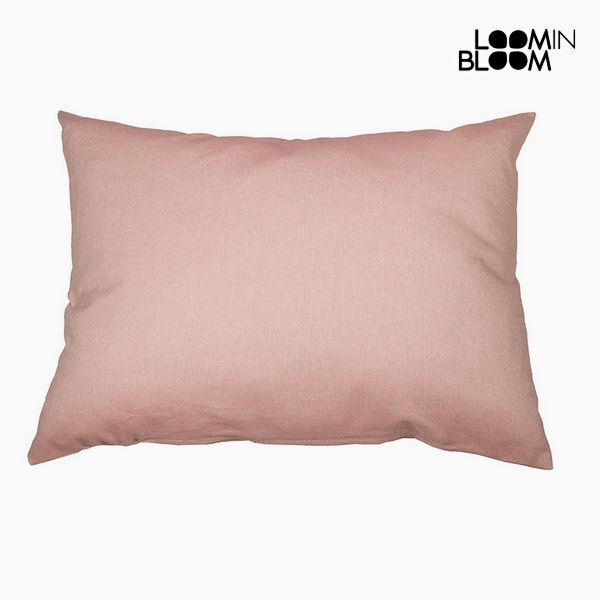 Cushion Cotton and polyester Pink (50 x 70 x 10 cm) by Loom In Bloom